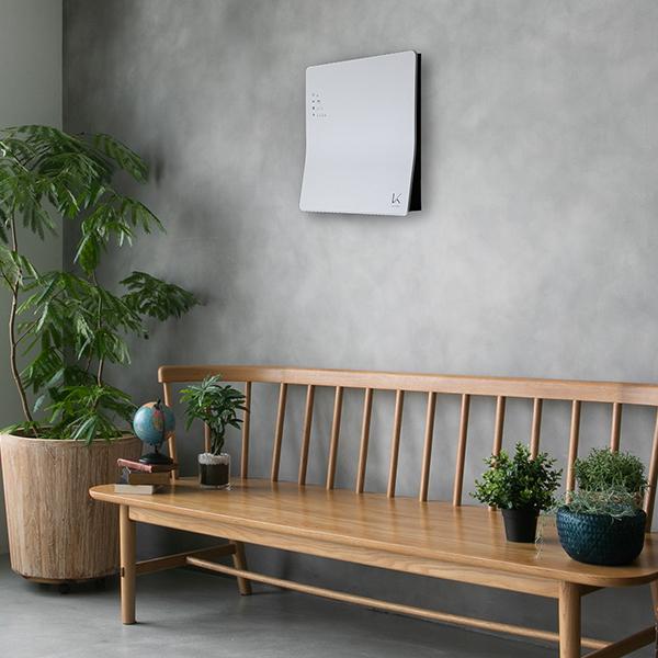 光触媒技術を使用した壁掛けタイプ「KL-W01」